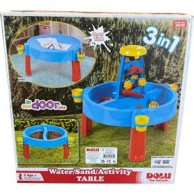 Dolu 3-in-1 Sand and Water Activity Table