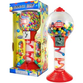 Double Bubble 24 inch Gumball Machine with Gumballs