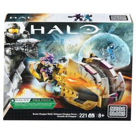 Mega Bloks Halo Brute Chopper Raid Set