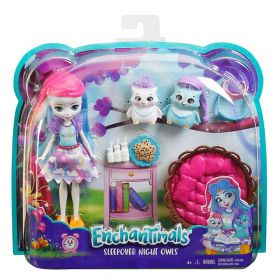 Enchantimals Sleepover Night Owl Dolls