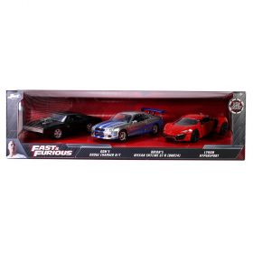 Fast & Furious 3 Piece Die Cast Cars