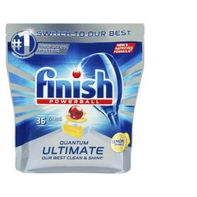 Finish Quantum Ultimate Dishwasher Tablets Lemon 36 pk