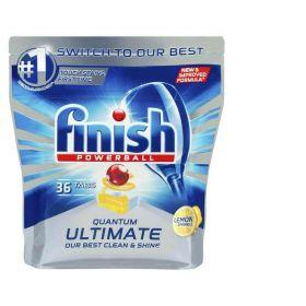 Finish Quantum Ultimate Dishwasher Tablets Lemon 36 pk
