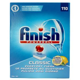 Finish Powerball Classic Lemon Sparkle Dishwashing Tablets 110 pack