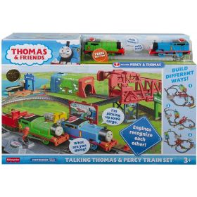 Fisher Price - Thomas & Friends Talking Thomas & Percy Train Set