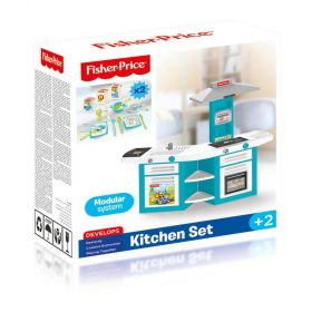 Fisher Price Kids Electronic Toy Double Kitchen Playset