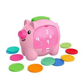 Fisher Price Laugh & Learn Count & Rumble Piggy Bank