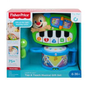 Fisher Price Laugh & Learn Tap & Teach Musical Gift Set