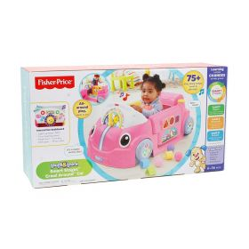 Fisher Price Laugh and Learn Smart Stages Crawl Around Car-Pink