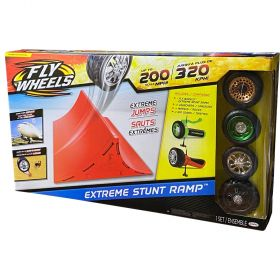 Fly Wheels Extreme Stunt Ramp With 4 Wheels
