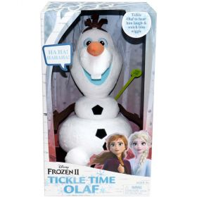 Disney Frozen 2 Tickle Time Olaf Feature Plush