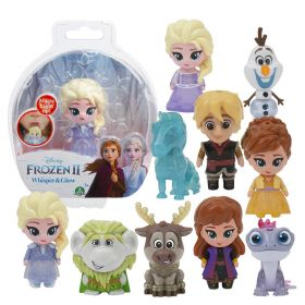 Frozen 2 Whisper & Glow Dolls 10 pack