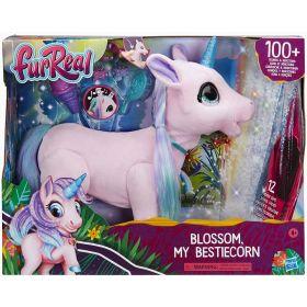 FurReal Blossom My Bestiecorn Interactive Plush Unicorn Pet Toy