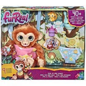 FurReal Piper My Baby Monkey Interactive Animatronic Plush Toy