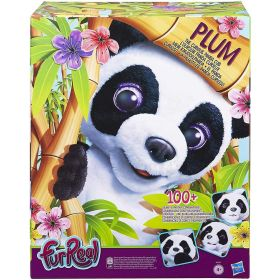 FurReal Plum The Curious Interactive Panda Bear