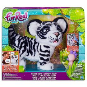 FurReal Roarin Ivory, The Playful Interactive Tiger