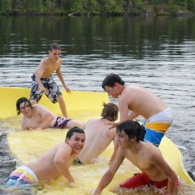 Gaint Wateraft Foam Raft