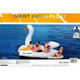Giant 6 Person Swan Float