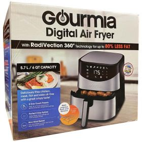 Gourmia GAF680 Digital Air Fryer 5.7L