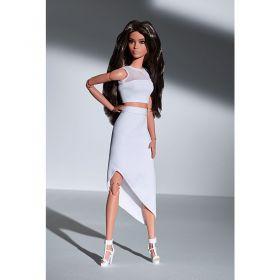 Barbie Signature Look Doll Brunette Wavy Hair