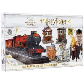 Harry Potter Hogwarts Express & Diagon Alley 3D Puzzle