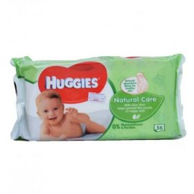 Huggies Natural Care Baby Wipes 56 pk