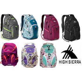 High Sierra Backpack 15'' Laptop or School Bag