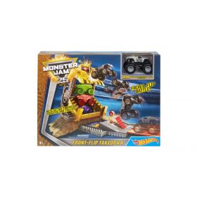 Hot Wheels Monster Jam Front Flip Takedown Playset