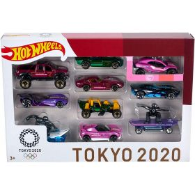 Hot Wheels Tokyo 2020 Olympics 10 Pack