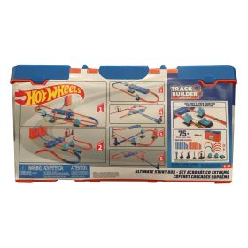 Hot Wheels Track Builder Ultimate Stunt Box 75+ Pieces