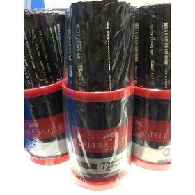 Faber Castell 72 HB Lead Pencil Tub