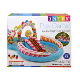 Intex Inflatable Candy Zone Water Play Center