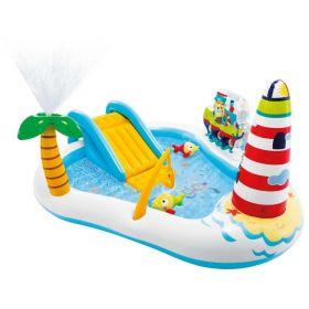 Intex Fishing Fun Play Pool Center