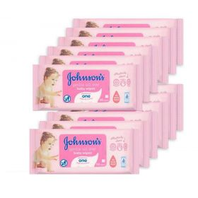 Johnsons Gentle All Over Baby Wipes 672 Pack