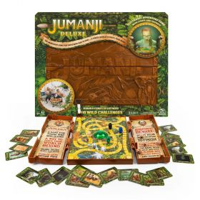 Jumanji Deluxe Board Game Electronic Version