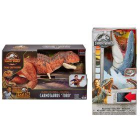Jurassic World Super Colossal Carnotaurus Toro and Mosasaurus Exclusive
