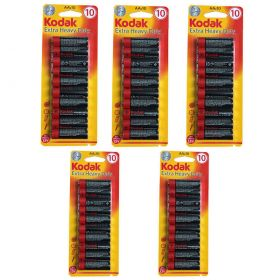 Kodak AA Batteries 50 Pack