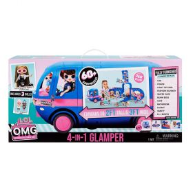 LOL Surprise! O.M.G. 4-in-1 Glamper With 3 Dolls (Exclusive)