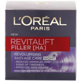 Loreal Paris Revitalift Filler Night Cream 50ml