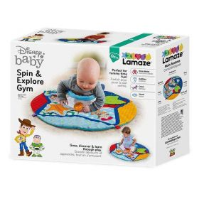 Lamaze Disney Baby Toy Story Spin and Explore Play Mat