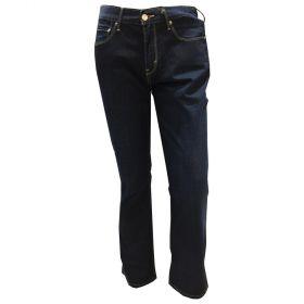 Levis Womens 505 Straight Leg Jean Blue-30