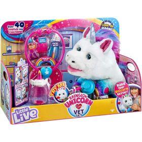 Little Live Pets Rainglow Unicorn Vet Set