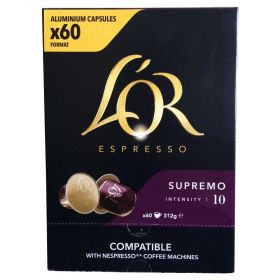 Lor Espresso Supremo Intensity Coffee Capsule 60Pk