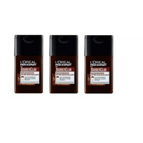 3 X Loreal Paris Men Expert Barber Club After Shave 125ml