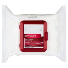 Loreal Paris Revitalift Wipes 25 pack