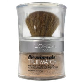 Loreal Paris True Match Minerals Foundation D4 – W4 Golden Natural