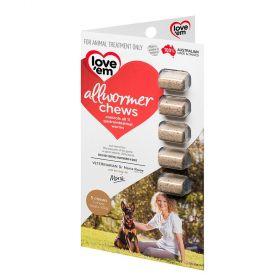 Love em Allwormer Chews For Medium Dogs - 5pk