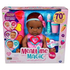 Luvabella Mealtime Magic Maya Interactive Baby Doll