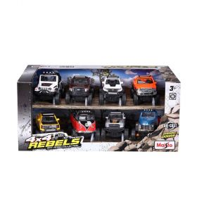 Maisto Rebels Off-Road Car Collection 8pk