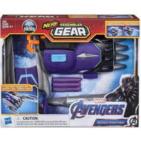 Marvel Avengers Black Panther NERF Assembler Gear